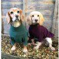 Hotter Dog Fleece Jumper: Grape at Gundog Gear